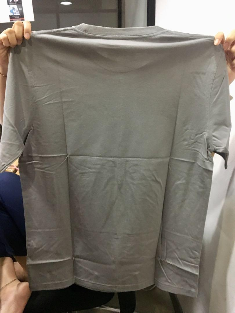 Tshirt Pria Alive Grey
