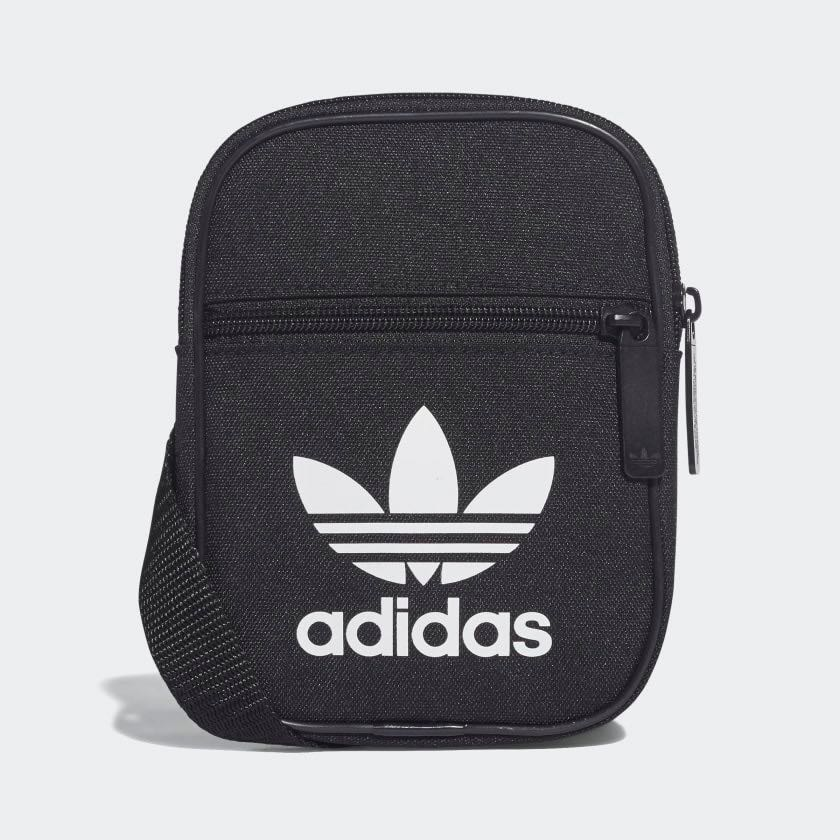 553589b25566 Unisex Adidas Originals Trefoil Festival Mini Crossbody Sling Bag ...