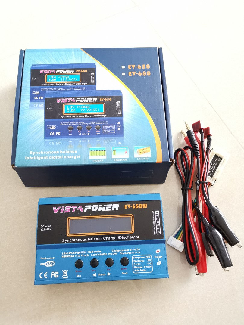 Reduced Price - Vista Power EV-650W Synchronous balance Charger/Discharger