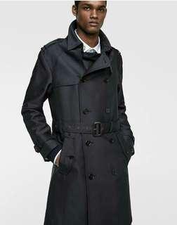 Zara Man Trench Winter Coat