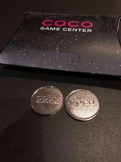 Coco Chanel Game Center Tokens