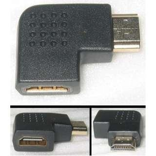 HDMI L-Shaped 90-degree connector adapter