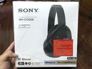 🚚 SONY WH-CH700N無線藍牙降噪耳罩式耳機-黑 WH-CH700N/B
