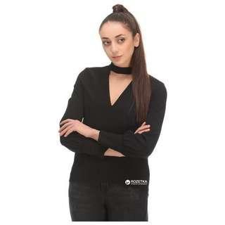 Zara V-Neck Blouse (NEW)