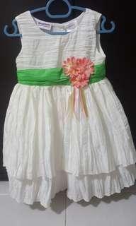 Baby dress 12 month flower girl dress