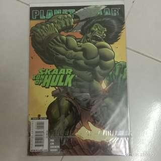Comic Marvel Planet Skaar : Skaar Son of Hulk #CNY888