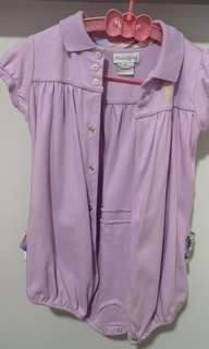 2 sets of Polo Ralph girl 18 month romper