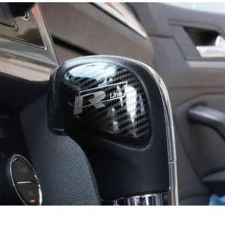 Volkswagen Jetta gear knob cover - Carbon Design