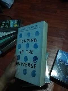 YA BOOK HOLDING UP THE UNIVERSE