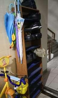 🚚 開放式鞋櫃
