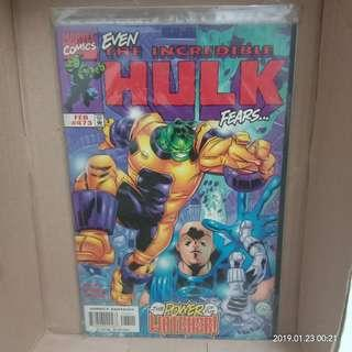 Comic The Incredible Hulk Issue 473 #CNY888