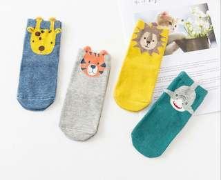🚚 動物兒童襪