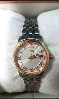 Auth Titus Automatic watch
