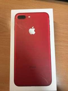 Iphone7 plus red 256g