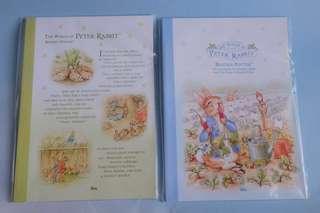 Peter Rabbit Buku Tulis Unik Simple