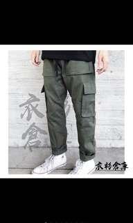 🚚 六口袋工作褲