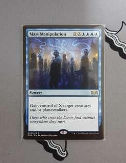 Magic The Gathering - Mass Manipulation Card