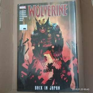 Marvel Wolverine : Back In Japan #CNY888