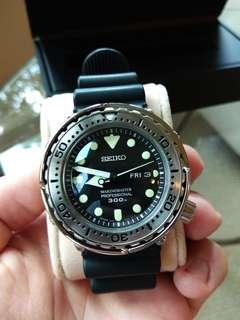Authentic Brand New SEIKO MarineMaster Professional 300M SEIKO Quartz Diver with a 48mm Case SBBN033 SBBN Japan Domestic Model