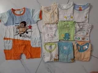 Preloved Baby Clothes 0-12mths