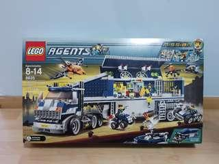 Lego 8635 Agents Mobile Command Center - brand new