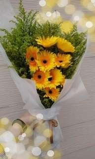 Flower Bouquet (Big) (allow to customize)