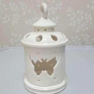 100%New簡約歐式白色浪漫蠟燭台display