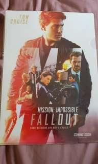 MISSION: IMPOSSIBLE - FALLOUT - Folder