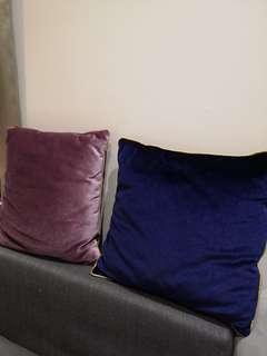 Lux Velvet Cushions #cny888 #cnyhome #cnydecor