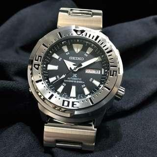 "Authentic Brand New Seiko Prospex ""Baby Tuna"" Men's Watch 200m Diver SRP637K SRP637K1 SRP637"