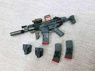 Easy & Simple MK16 loose from MSE ZERT [Diorama / phicen TBLeague / Not Hot Toys Weapon]