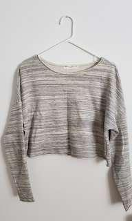 Urban outfitters cropped boxy sweater