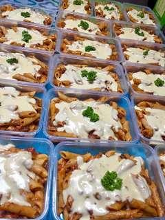 CREAMY BAKED PENNE ❤️