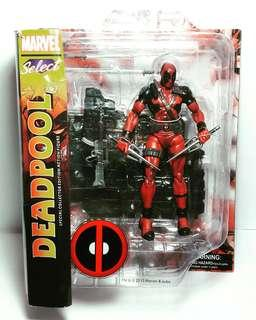 Deadpool with box/base/weapon 19cm