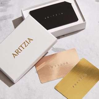 $93.23 Aritzia gift card