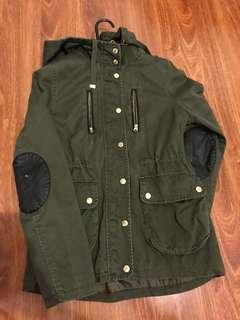 Topshop heavy duty cargo coat