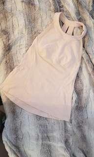 Lululemon Pink Workout Top - size 6