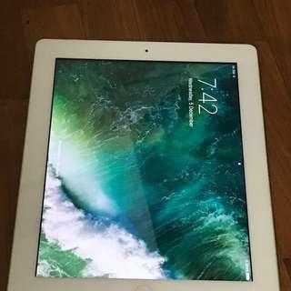iPad 4 Model A1460 32gb Cellular + WiFi