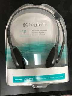 (New) Logitech Headset h111