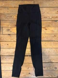 Lululemon Mesh Leggings w Pockets - Size 4