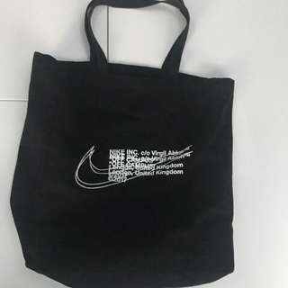 Off White Nike Tote Bag