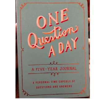 One question a day.. a five year journal