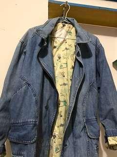 🚚 長版牛仔外套