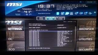 MSI X79A-GD45(8D)i7 3930k 3.2ghz