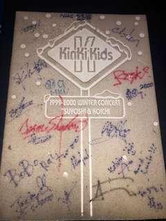 1999-2000 kinki kids winter concert