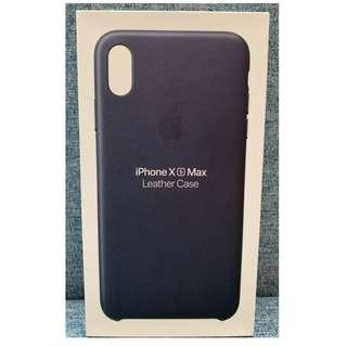 Iphone XS Max Leather Case Midnight Blue from Powermac