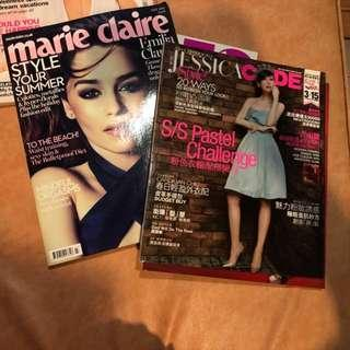 Marie Claire and Jessica code