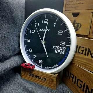 Defi轉數錶款時鐘 12寸