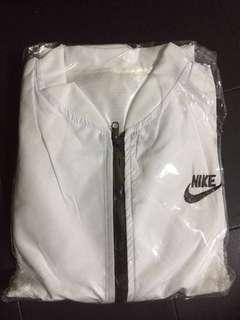 [NEW] Unisex Nike White Bomber Jacket