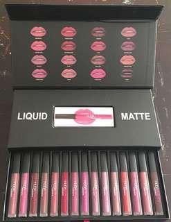 Huda beauty matte lipstick shades